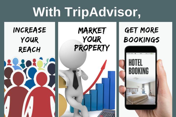 TripAdvisor for hotels and TripAdvisor for business benefits