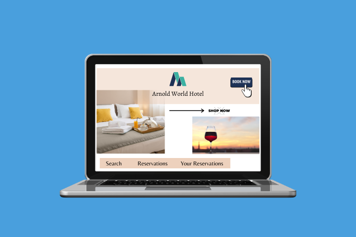 direct hotel bookings increase on updating your website