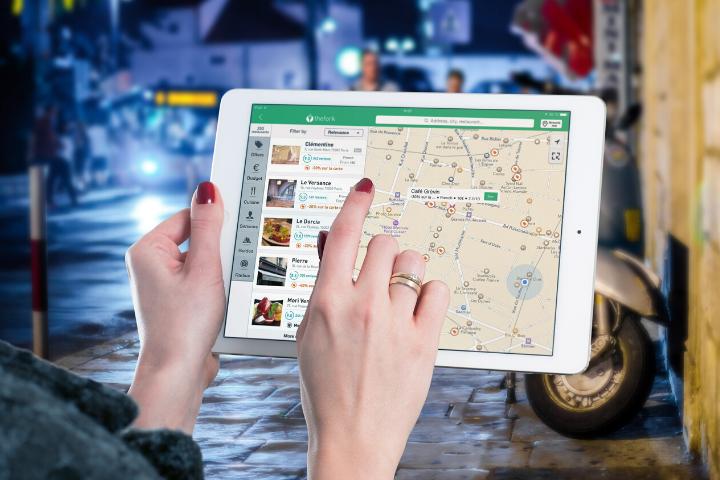 Google map for hotel website bookings