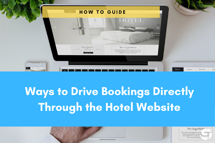 Bookings through hotel website Cover