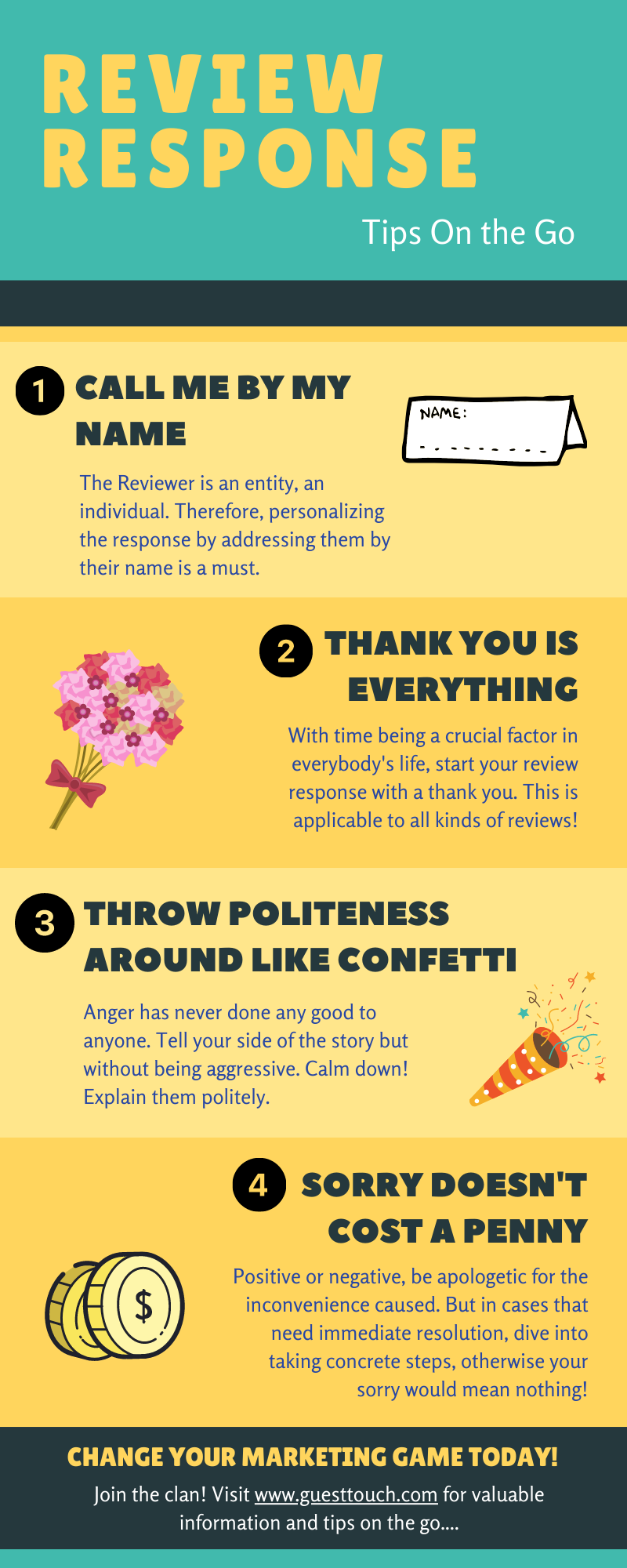 respond to tripadvisor hotel reviews infographic and tips