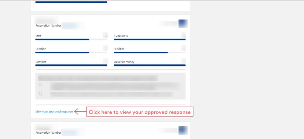 respond to the reviews on Booking.com step 11