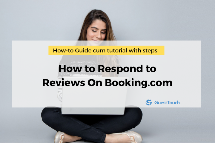 respond to the reviews on Booking.com feature image