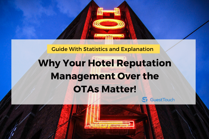 hotel reputation management on the OTAs feature image