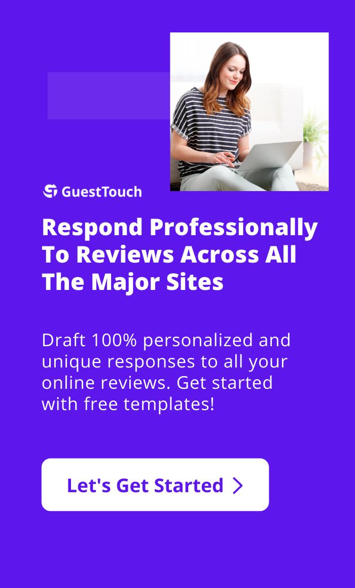 online reviews mobile CTA