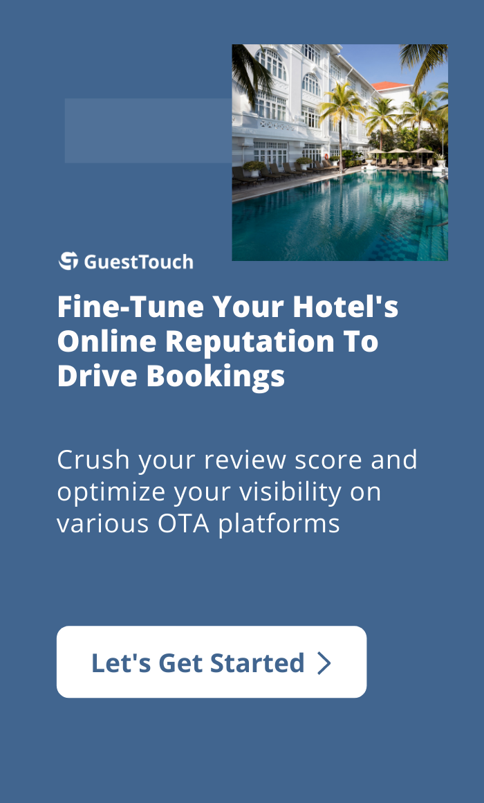 hotel rep mobile CTA