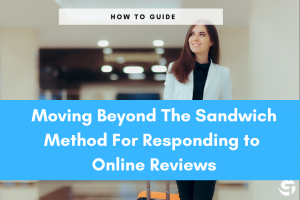 Responding to online Reviews Sandwich Method