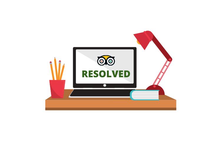 Resolved TripAdvisor Reviews