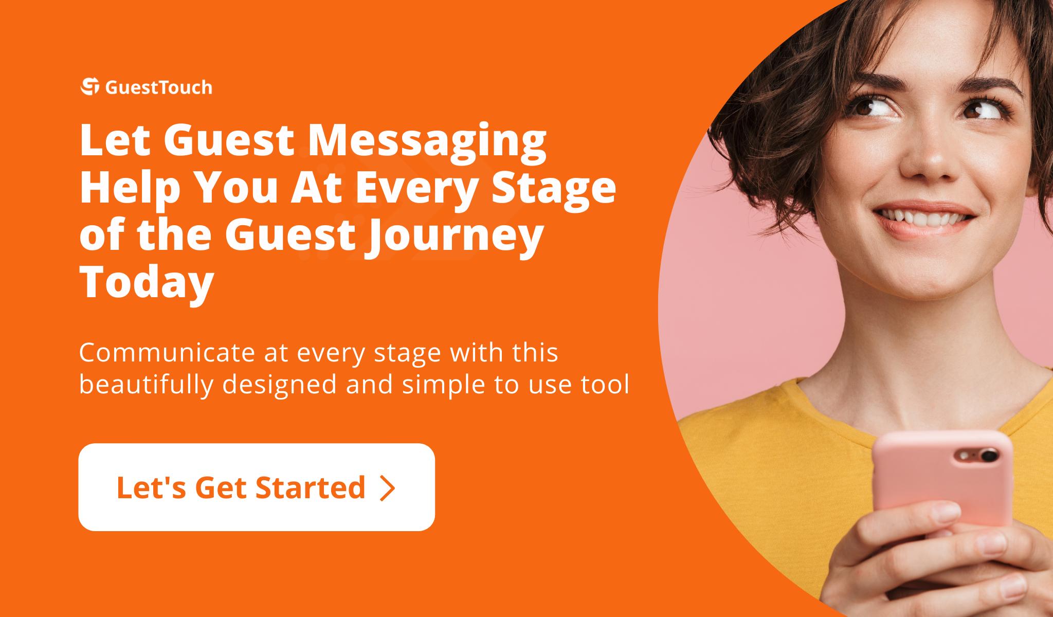 text messaging desktop CTA