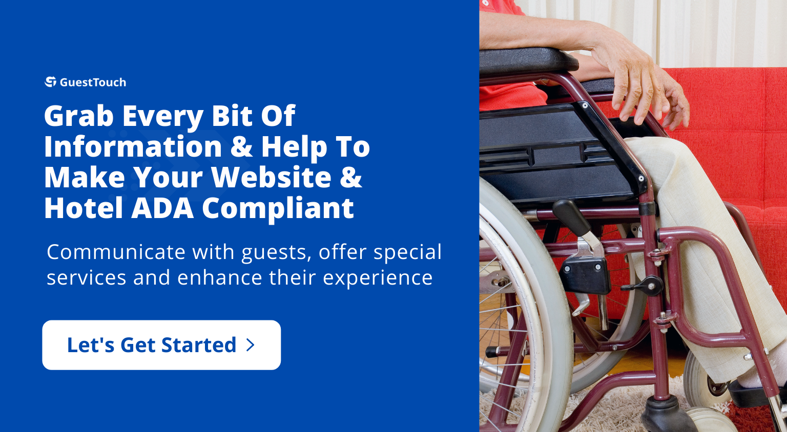 ADA Compliance tablet CTA