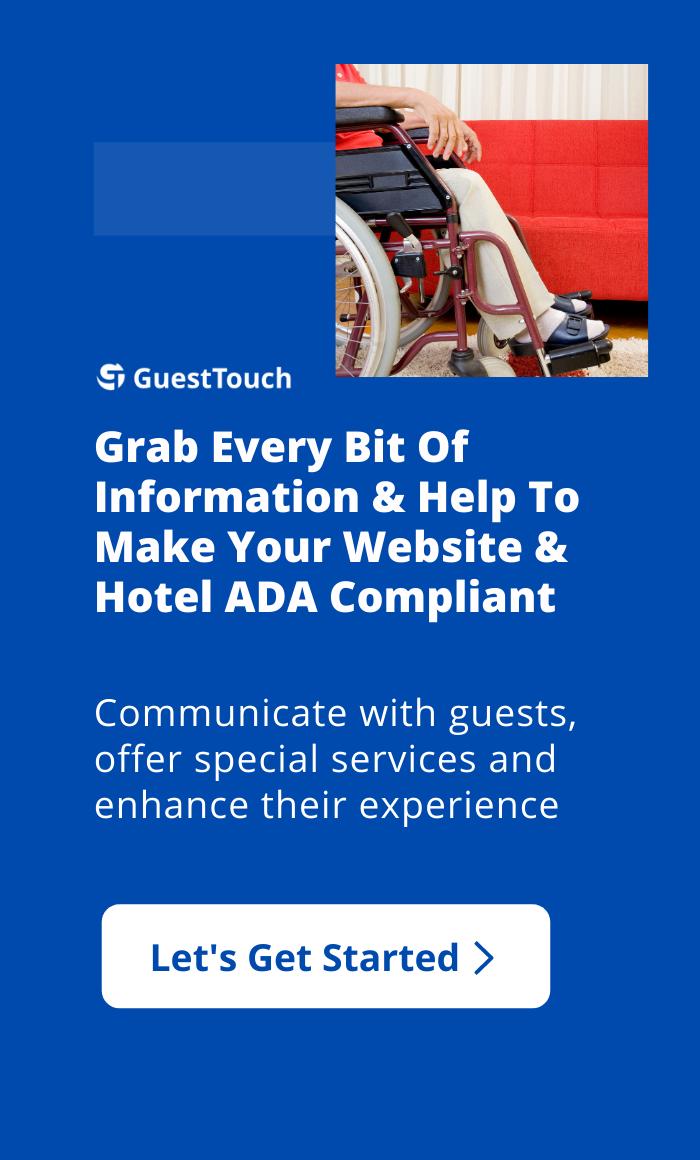 ADA Compliance mobile CTA
