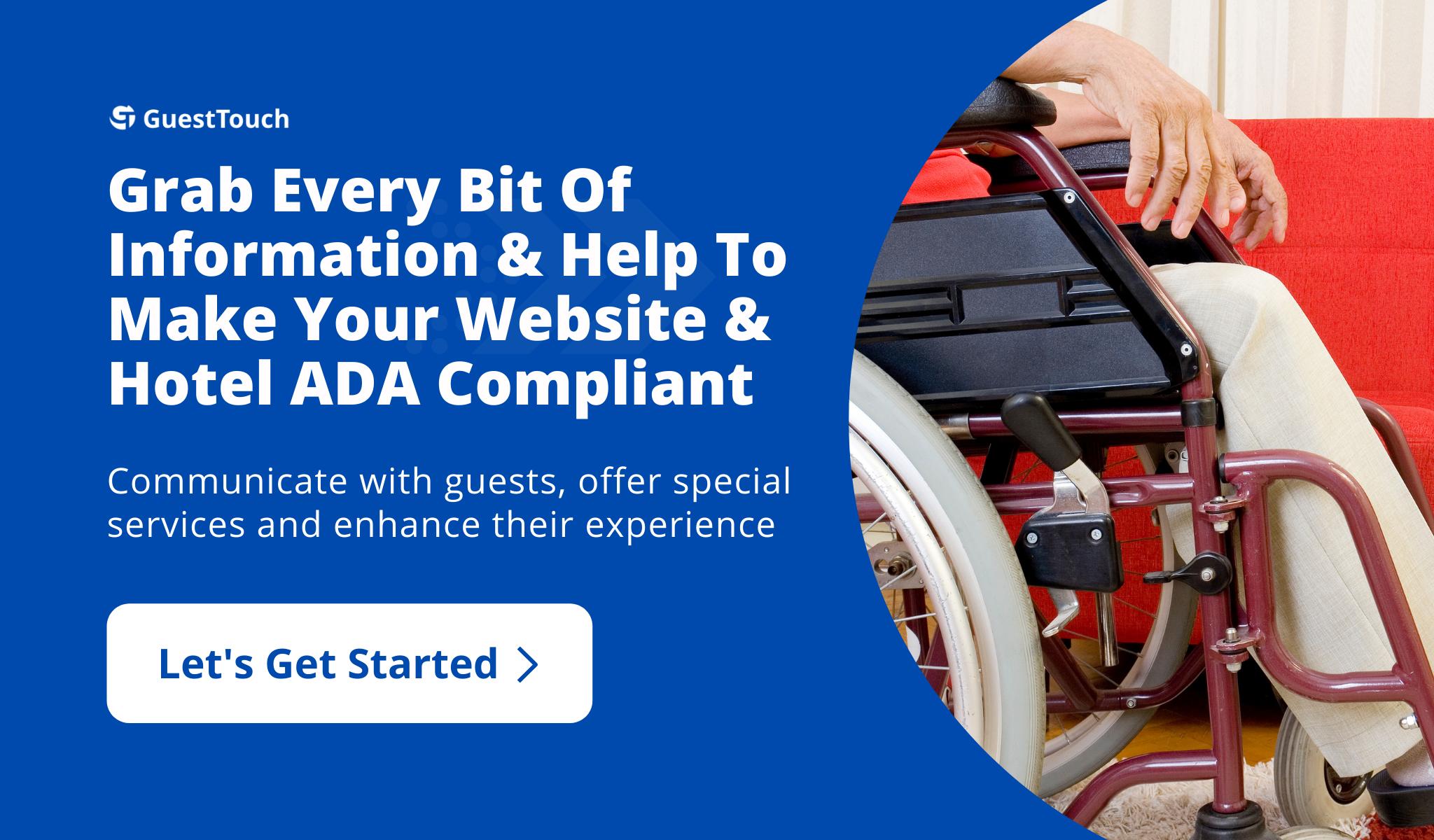 ADA Compliance desktop CTA