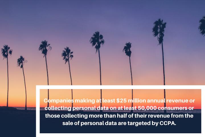 CCPA Company targets