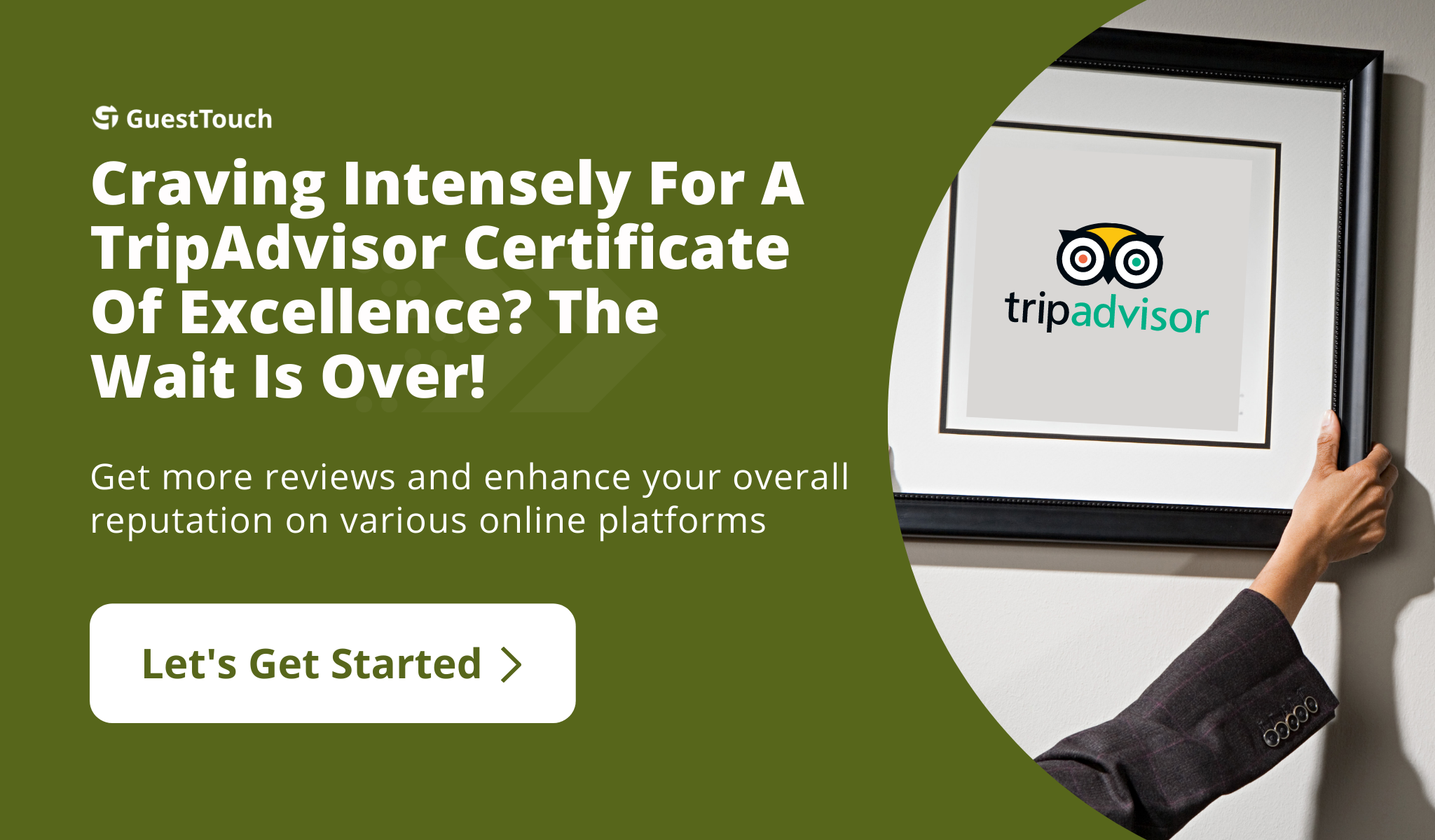 Tripadvisor Certificate desktop CTA
