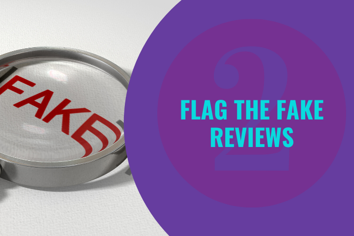 Flagging the fake Google reviews