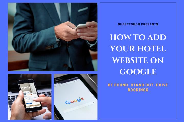 Hotel Website on Google
