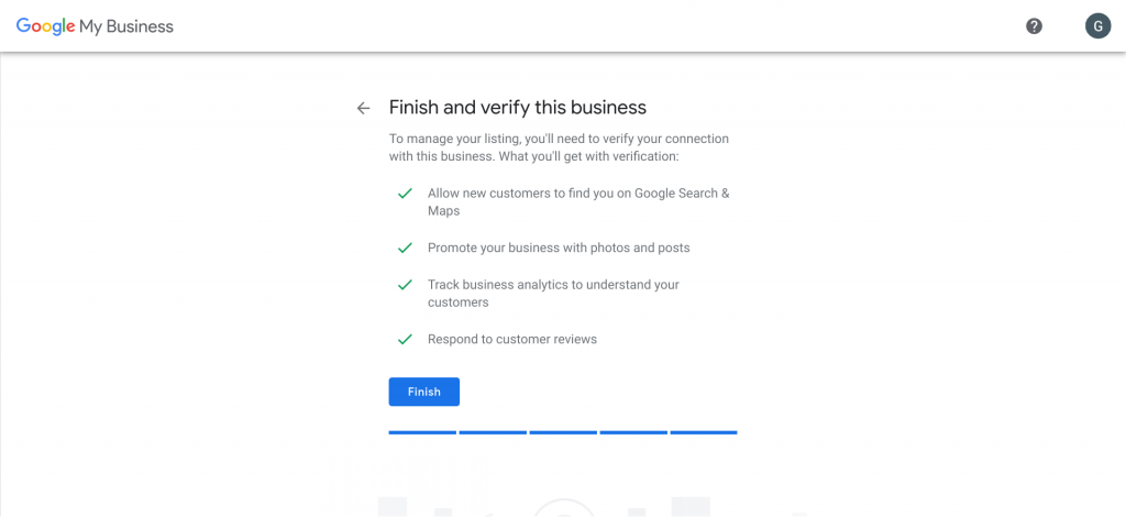 Verify Google Business