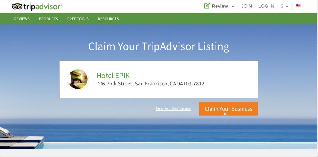 TripAdvisor Claim Business 3