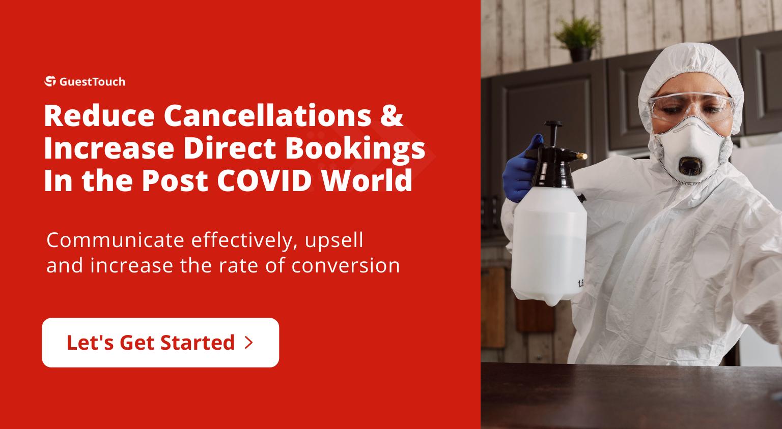 covid bookings tablet CTA