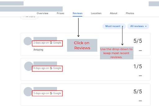 Hotel Reviews Google 1