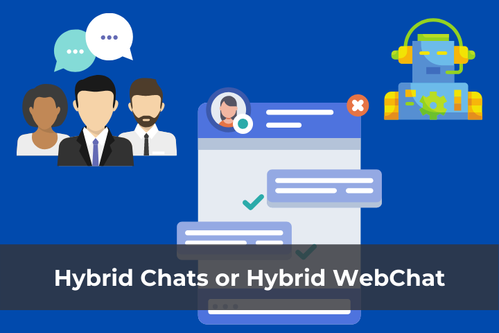 Types of WebChat For Your Hotel Website Hybrid WebChat