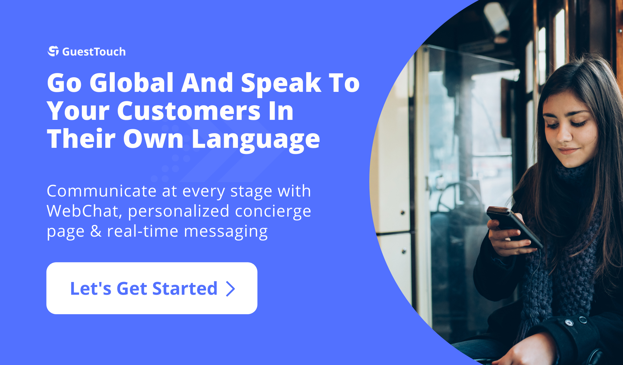 guest messaging desktop CTA