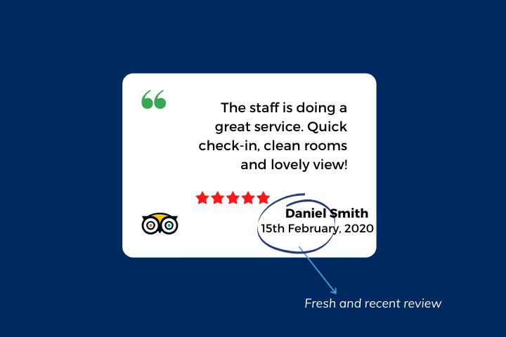 review widget as social proof fresh reviews