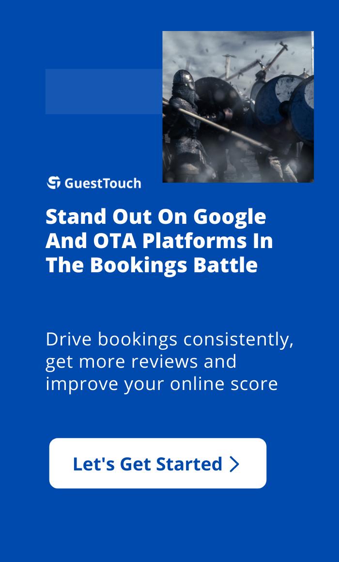 bookings battle mobile CTA