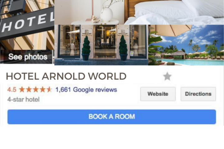 Google My Business for hotels adding photos 1