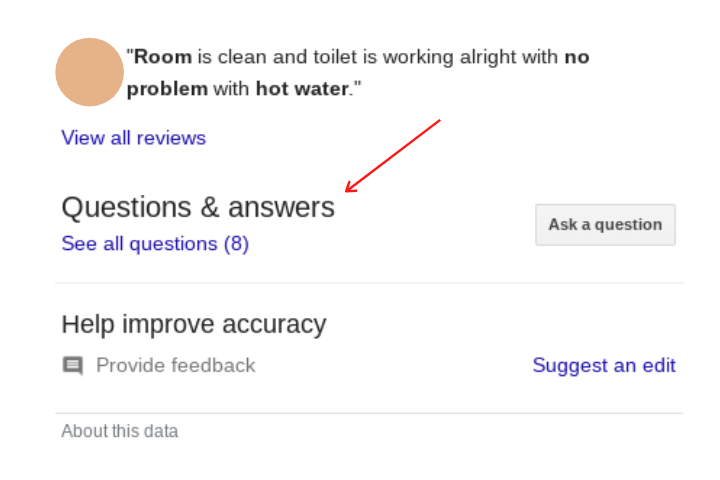 Google My Business for hotels questions and answers 1