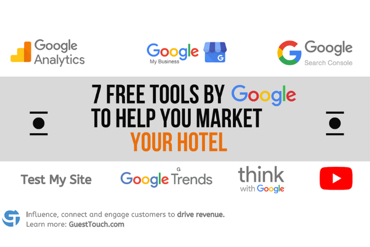 Free tools by Google blog banner