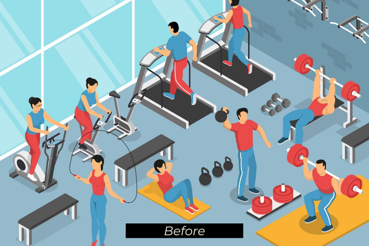 provide a first-rate hotel experience gym workout