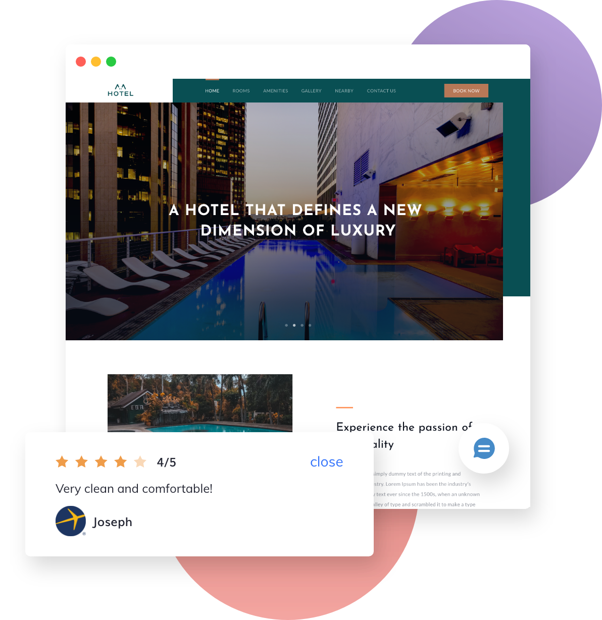Cutting-Edge Hotel Website