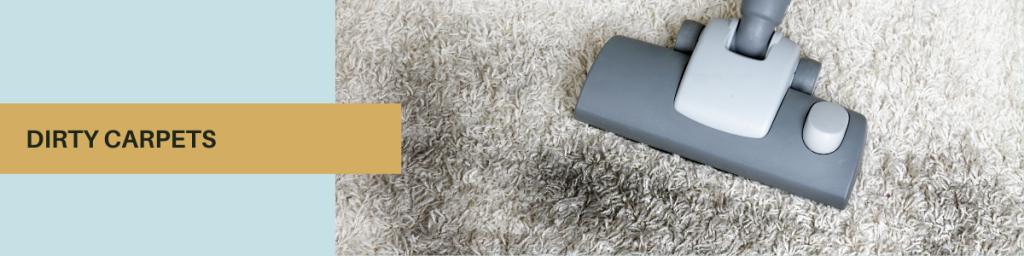 dirty carpets at hotels