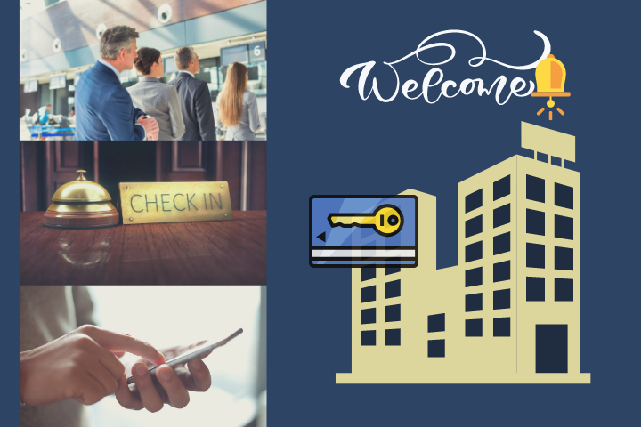 hotel online check-in system banner