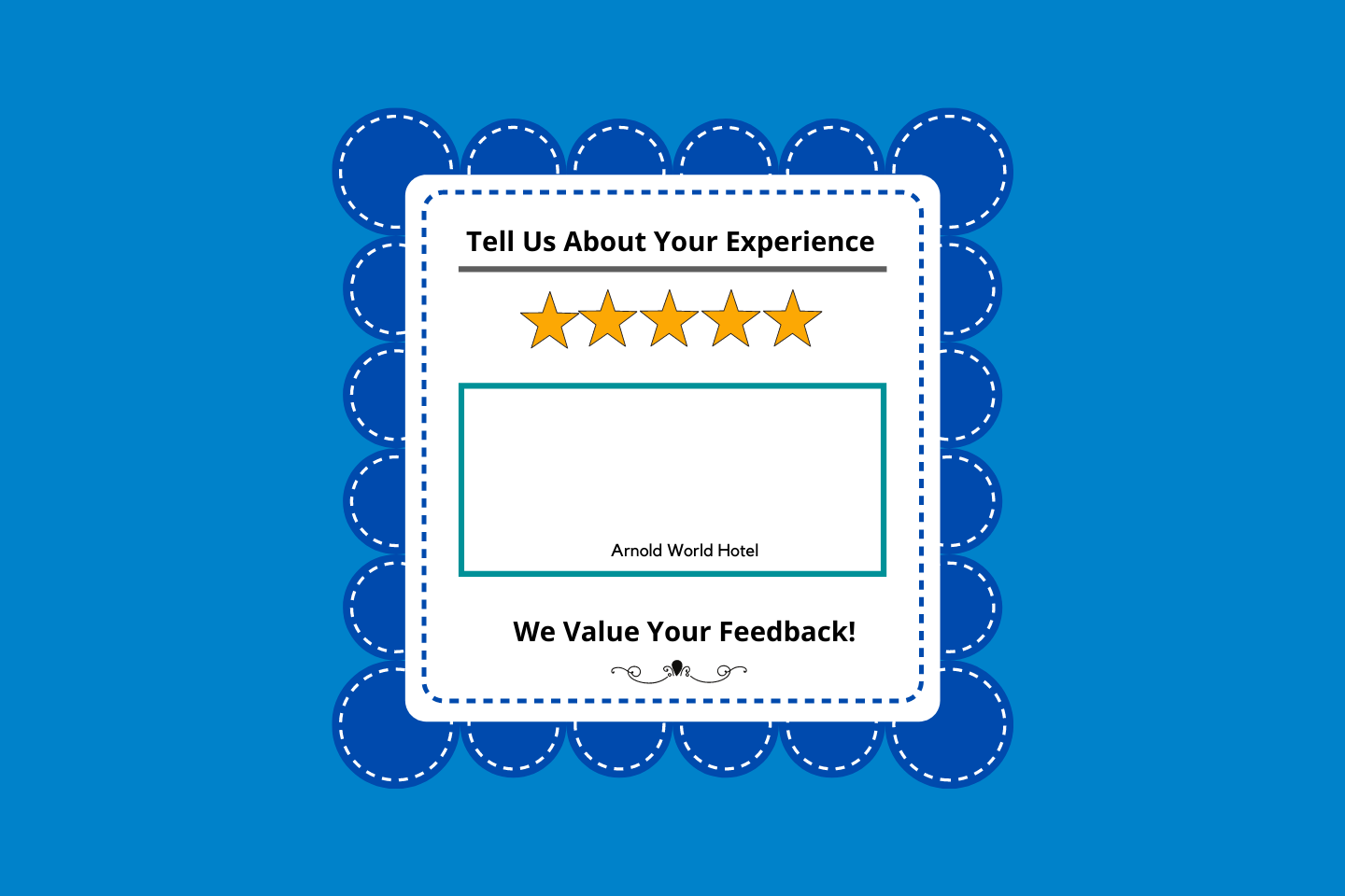 Guest Feedback Strategy for hotels using comment cards