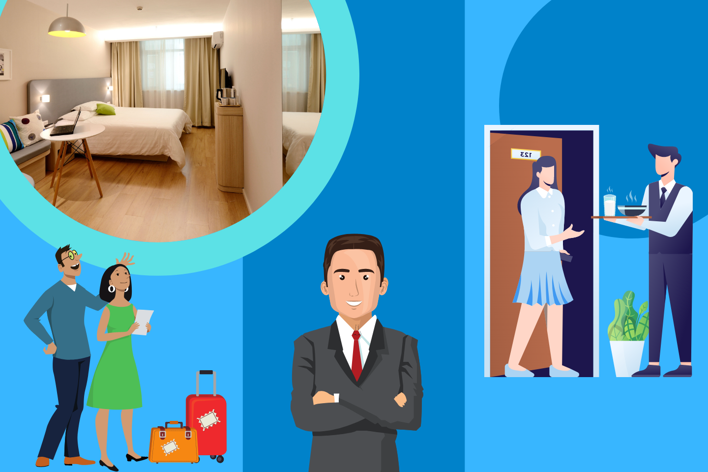 build relation with repeat hotel guests
