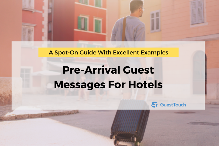 pre-arrival for hotels feature image