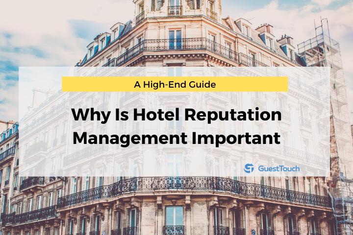 reputation management for hotels