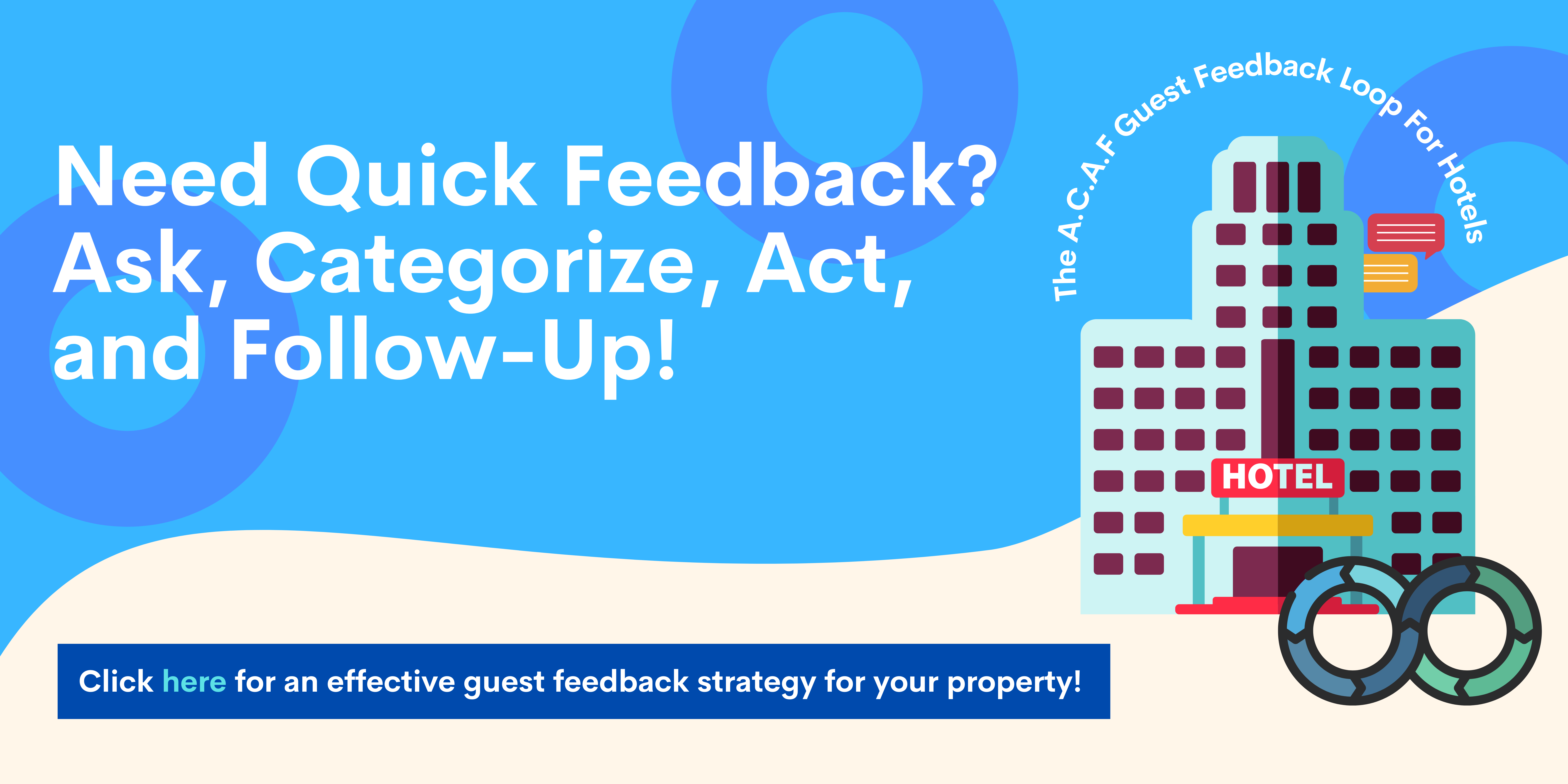 guest feedback strategy for hotels