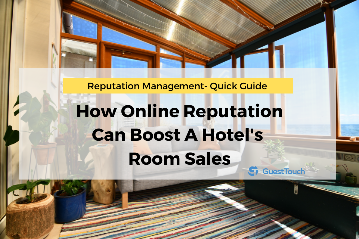 hotel reputation management room sales feature image
