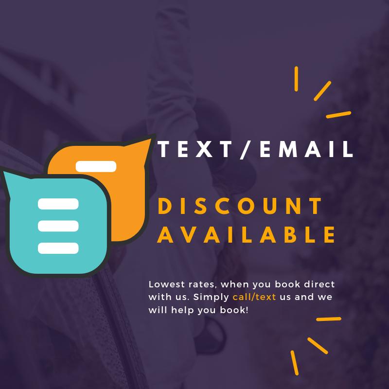 Text Email Hotel Discount Anaheim Disneyland